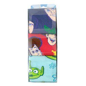 Disney Pixar Toy Story Crew Socks - 3 Pack
